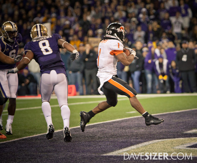 OSU captitalizes on the pentalty by scoring on the next play...