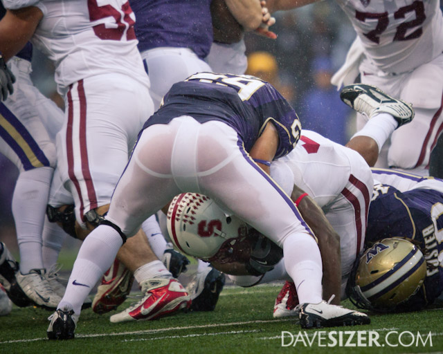 UW might want to rethink wearing the white pants for rain games...