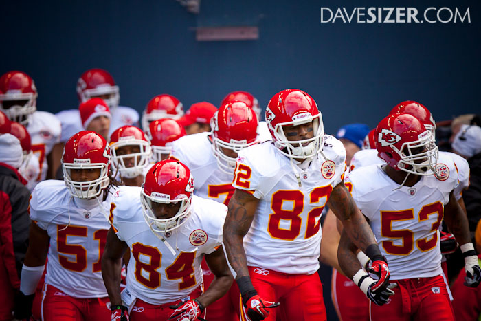 The Chiefs take the field