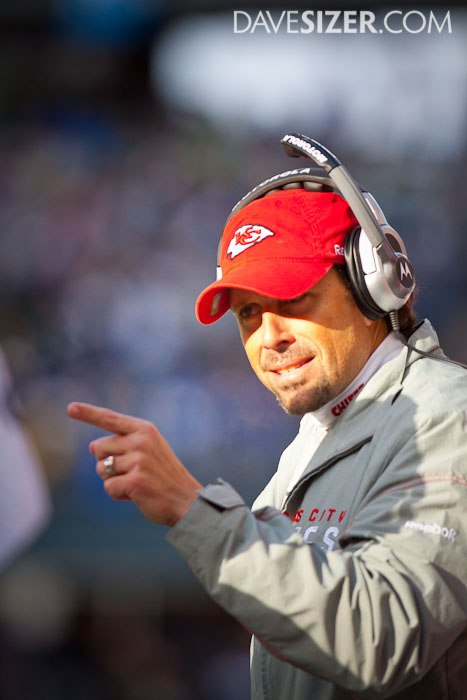 Chiefs Head Coach Todd Haley