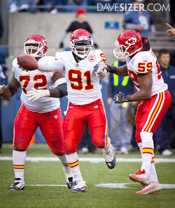 ...Tamba Hali, that's who.