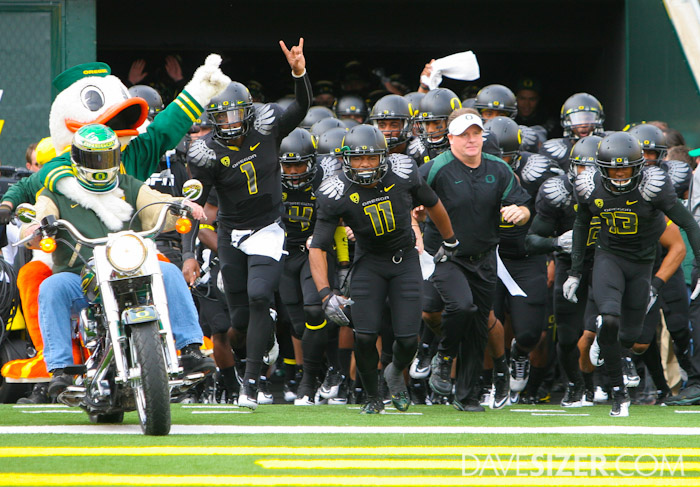 Ducks take the field