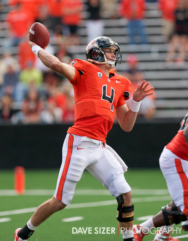 Sean Mannion gets off a pass.
