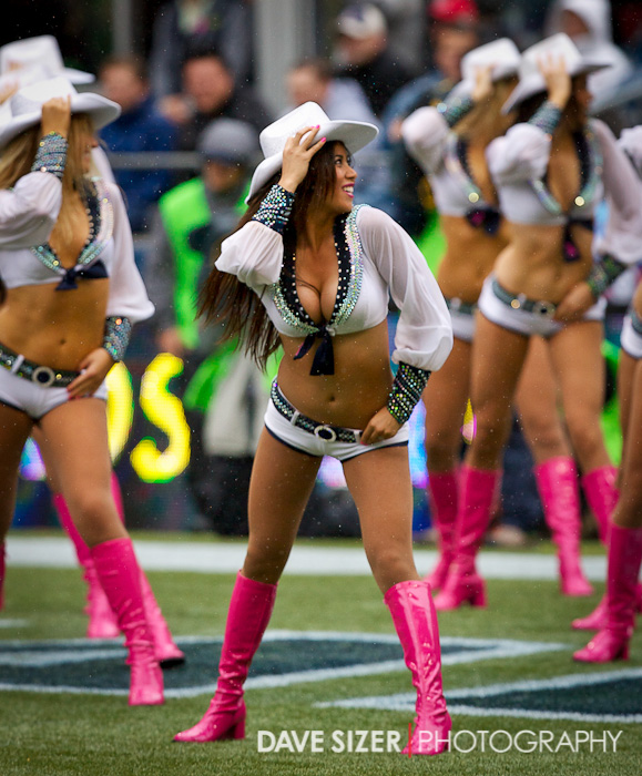 The Sea Gals break out the cowboy hats for a number.