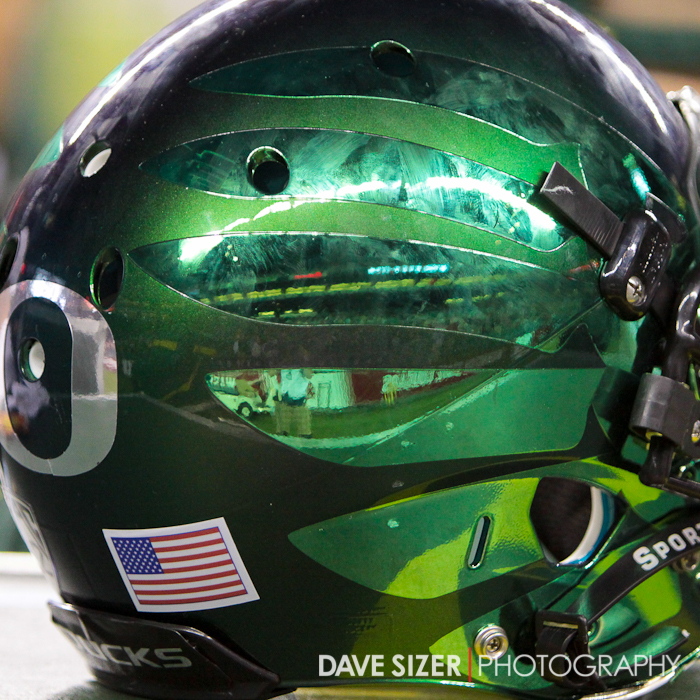 *Extra* If you like the Ducks or not, you have to admit this is the coolest helmet around!