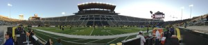 *Extra* I tried the new iPhone panorama feature to get a look inside Autzen Stadium. Pretty cool!