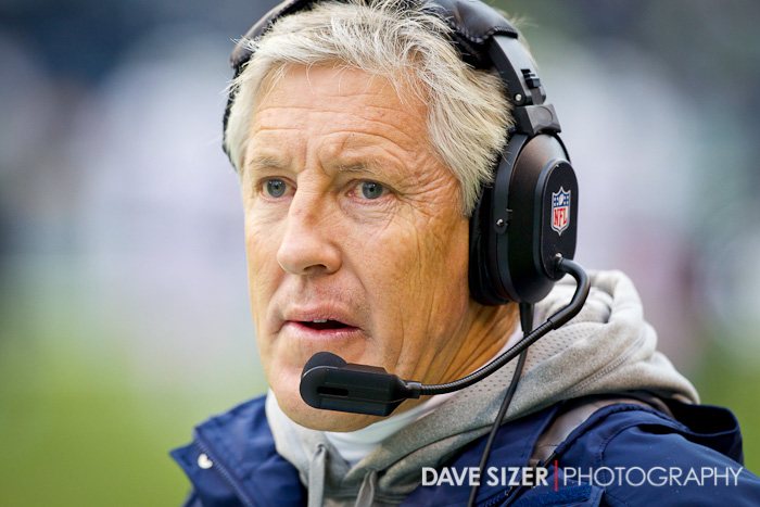 Head Coach Pete Carroll.