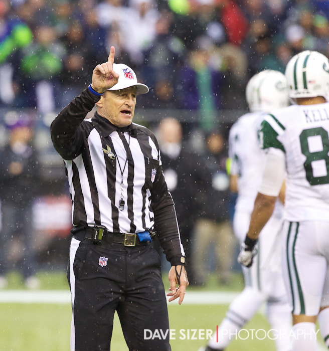 Referee Ed Hochuli is number one.