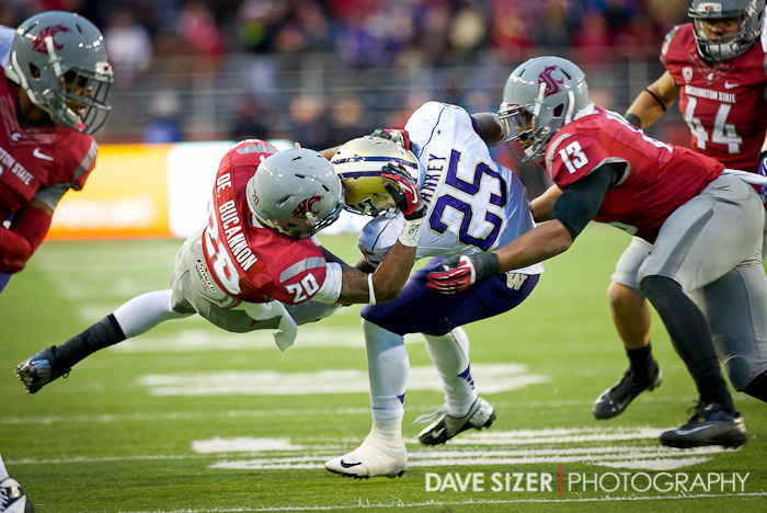 Bishop Sankey gets pulled down by Deone Bucannon.