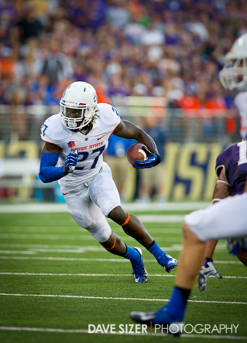 Boise State Running Back Jay Ajayi was the only bright spot on offense for the Broncos rushing for 93 yards.