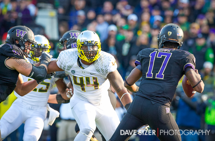 DeForest Buckner has his eyes on the prize (or Price in this case)