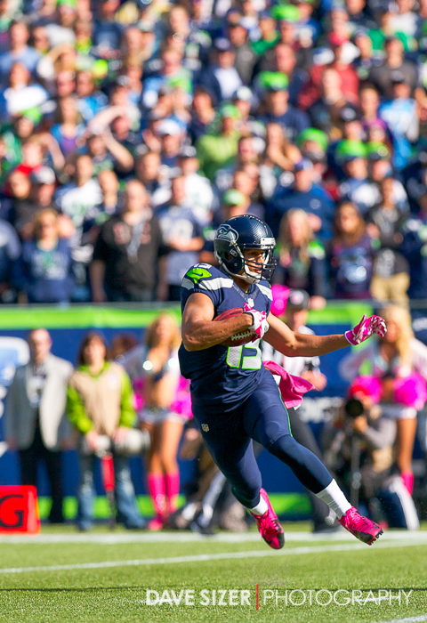 Jermaine Kearse with a kick return.