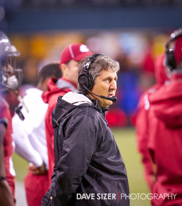 Cougars Head Coach Mike Leach is not amused.