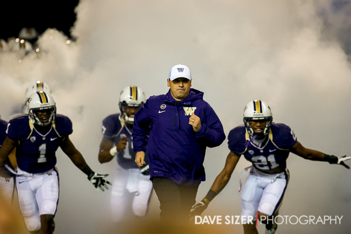 Sark and the boys burst through the fog to take the field.