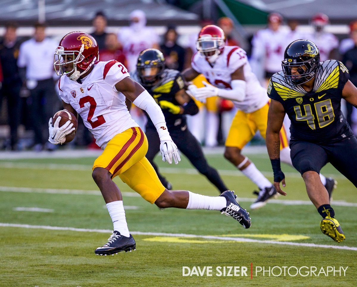 Adoree' Jackson breaks free for a score.