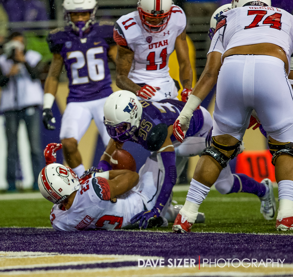 This was apparently a Touchdown even though Devontae Booker lost control of the ball as he crossed the goal line.