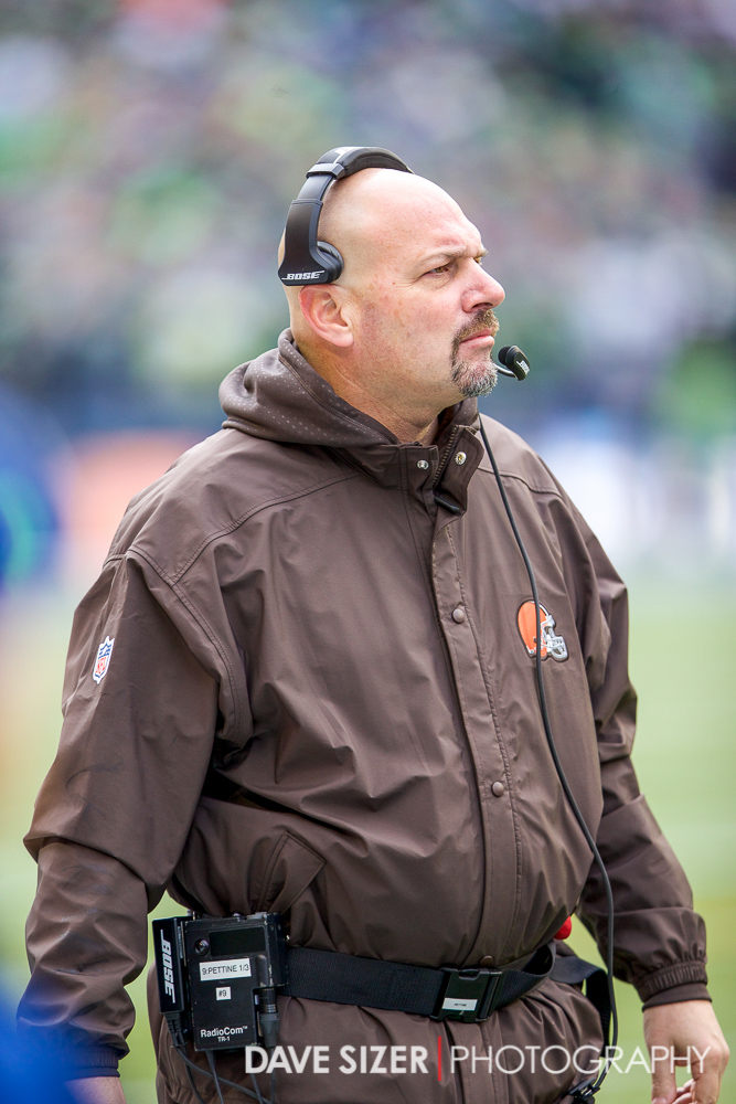 Browns Head Coach Mike Pettine.