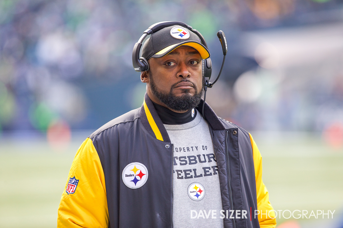 Steelers Head Coach Mike Tomlin.