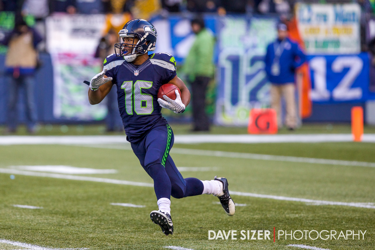 Rookie speedster Tyler Lockett.