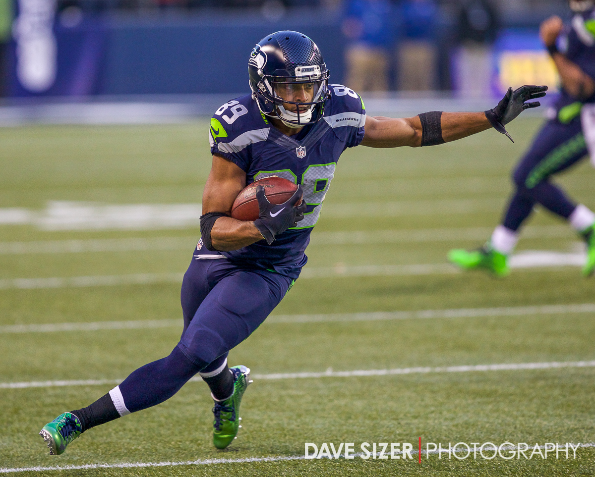 Doug Baldwin with big yards after the catch.