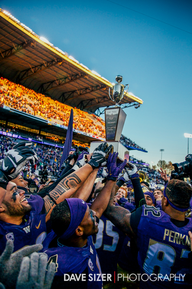 Washington Huskies 2015 Apple Cup Champions.