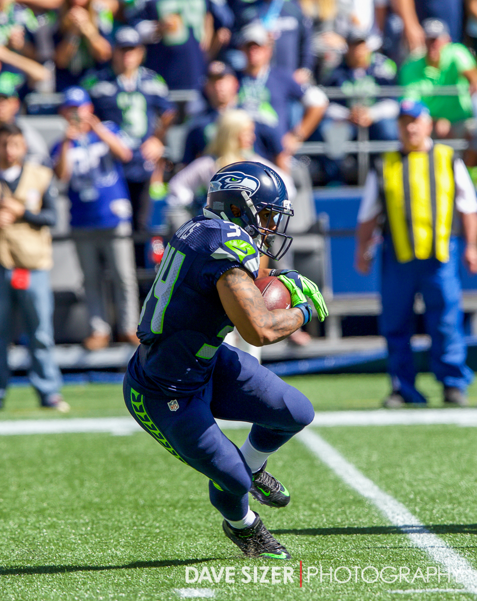 Good to see Thomas Rawls back in the mix fully healed from last year's injury.