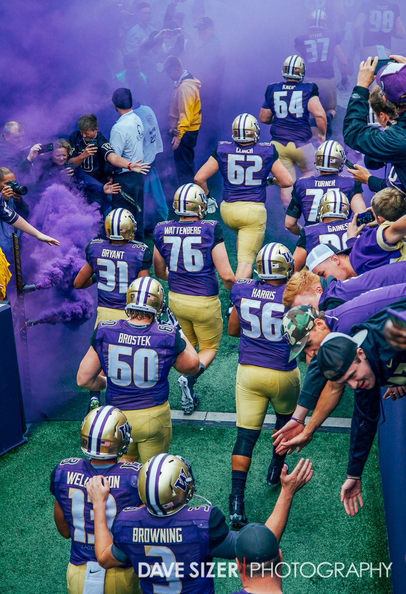 The team enters through the purple haze.