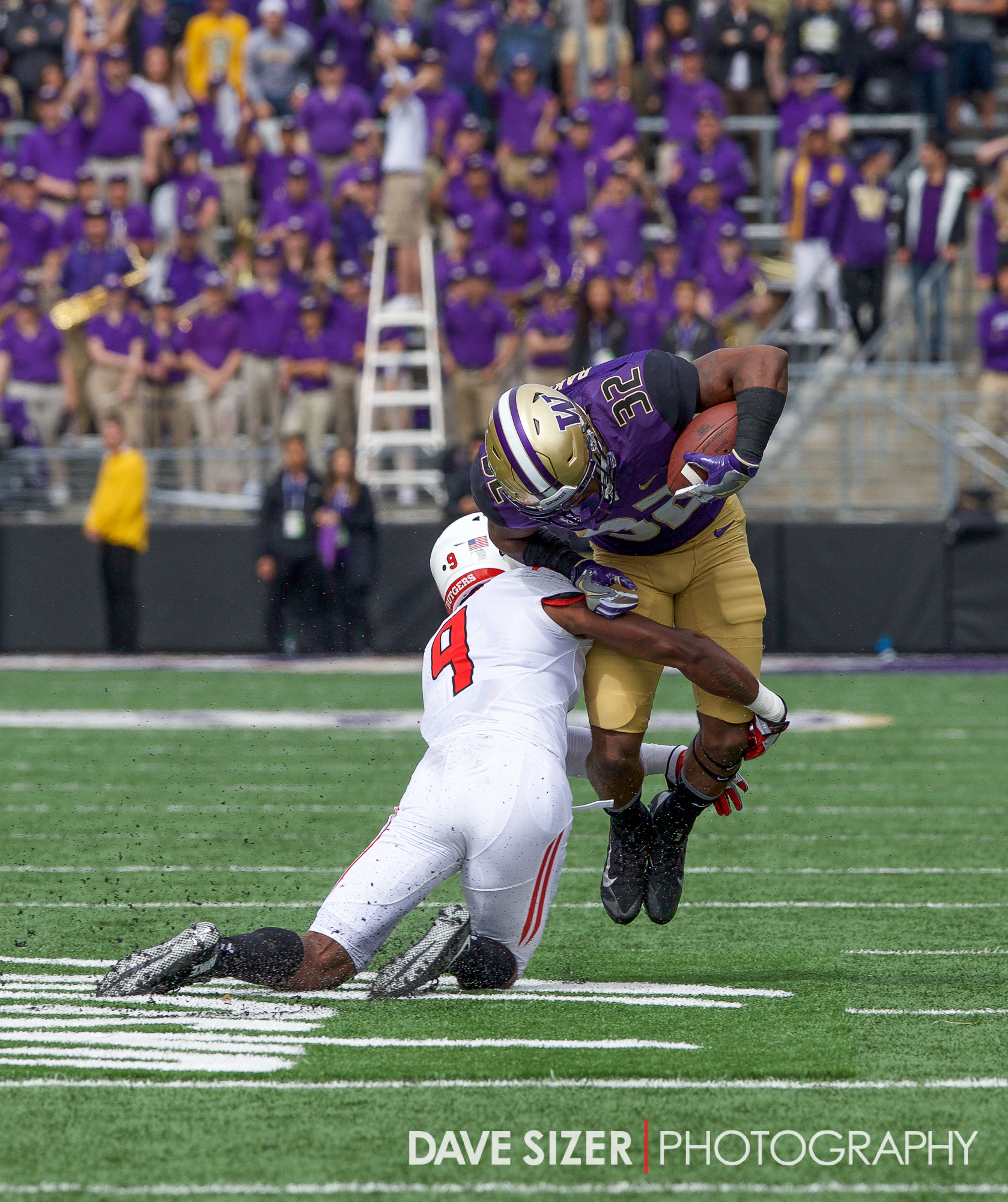 Budda Baker took a snap on the offense.