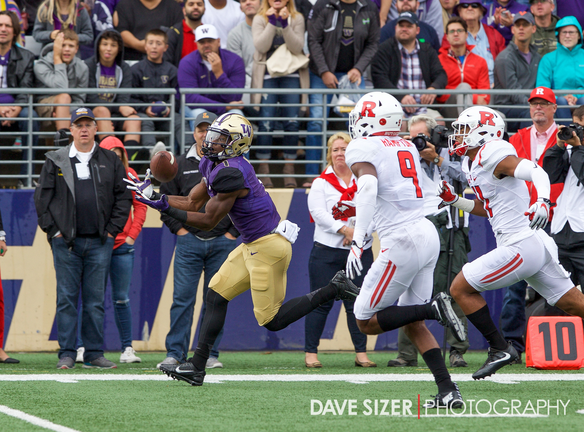 The turnover promptly turned into points as John Ross scores on a deep pass just two plays later.