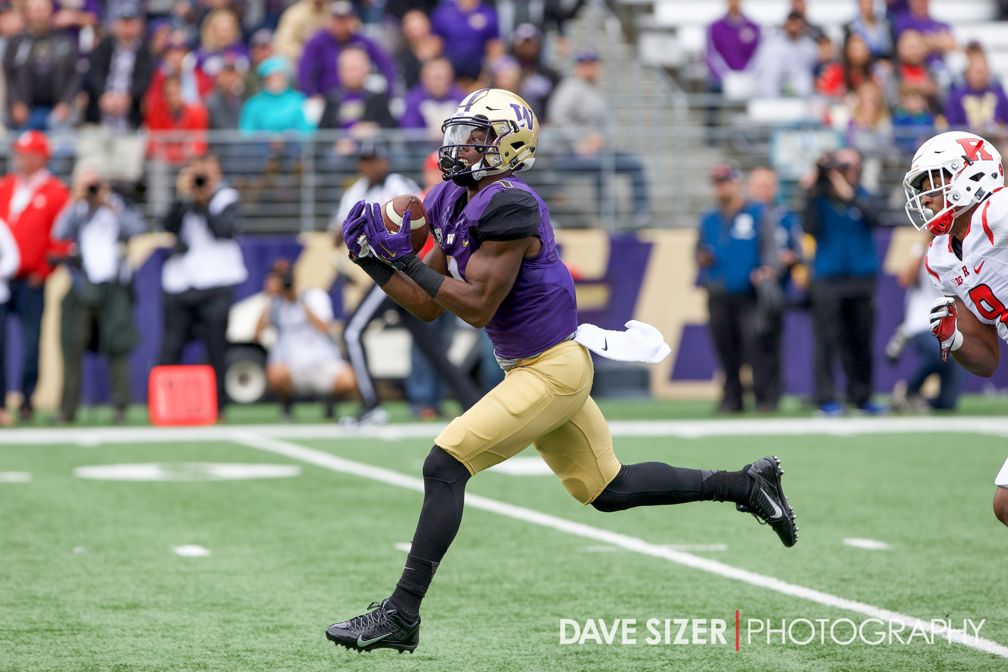 John Ross gets another deep pass right in stride for his second score of the day.