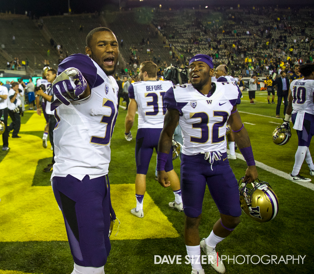 Azeem Victor and Budda Baker.