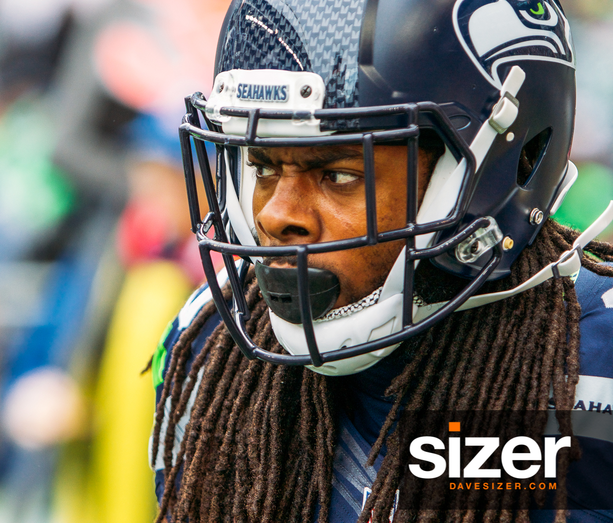 Richard Sherman in the zone.